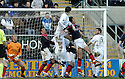 03/02/2007       Copyright Pic: James Stewart.File Name : sct_jspa10_falkirk_v_st_johnstone.KEVIN JAMES  SCORES ST JOHNSTONE'S SECOND.....James Stewart Photo Agency 19 Carronlea Drive, Falkirk. FK2 8DN      Vat Reg No. 607 6932 25.Office     : +44 (0)1324 570906     .Mobile   : +44 (0)7721 416997.Fax         : +44 (0)1324 570906.E-mail  :  jim@jspa.co.uk.If you require further information then contact Jim Stewart on any of the numbers above.........