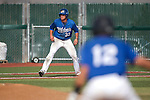Wildcats DJ Peters and Blake Morin run the bases against Colorado Northwestern at Western Nevada College, in Carson City, Nev., on Friday, March 13, 2015. <br /> Photo by Cathleen Allison
