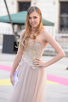 Amber Le Bon at the Royal Academy of Arts Summer Exhibition 2015 at the Royal Academy, London. <br /> June 3, 2015  London, UK<br /> Picture: Dave Norton / Featureflash