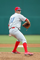 Clearwater Threshers pitcher Adam Morgan #37 during a game against the Brevard County Manatees at Space Coast Stadium on April 29, 2012 in Viera, Florida.  Brevard County defeated Clearwater 4-1.  (Mike Janes/Four Seam Images)