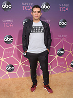 05 August 2019 - West Hollywood, California - Conrad Ricamora. ABC's TCA Summer Press Tour Carpet Event held at Soho House.   <br /> CAP/ADM/BB<br /> ©BB/ADM/Capital Pictures
