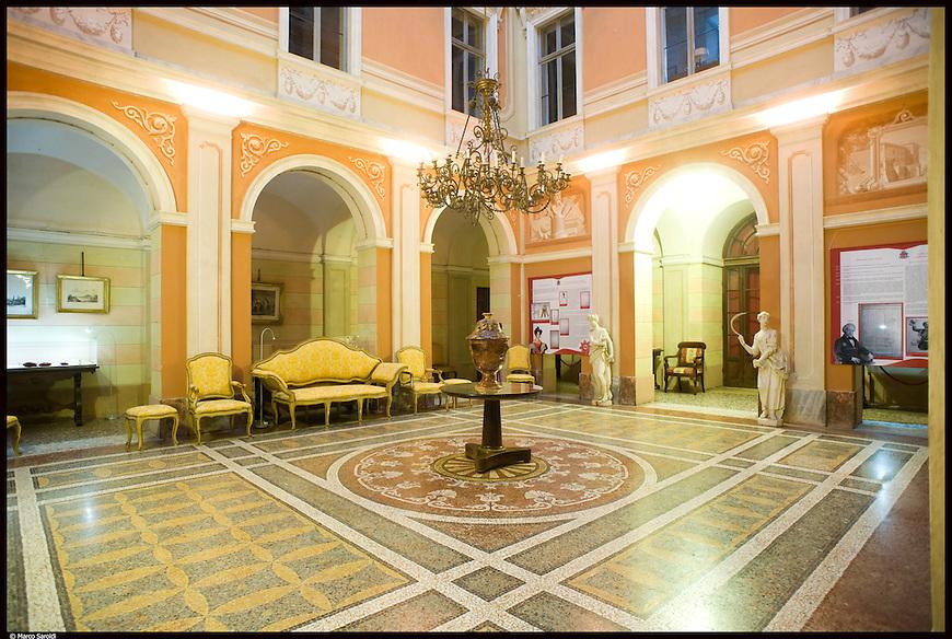 Il Salone d'onore del Castello di Pralormo.
