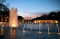 World War 2 Memorial Washington DC
