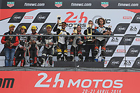 #17 ITEM 17 (FRA) KAWASAKI ZX 10R EXPERIMENTAL PONS GABRIEL (FRA) THIBAULT MATTHIEU (FRA) SARRABAYROUSE ALEX (FRA) WINNER 24H MOTO CATEGORY EXPERIMENTAL<br /> #45 METISS (FRA) METISS EXPERIMENTAL CORNUT BILLY (FRA) BOUVIER DAVID (FRA) CHERON EMMANUEL (FRA)SECOND OVERALL