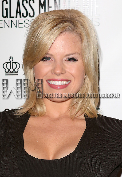Megan Hilty  attends the Broadway Opening Night Performance of 'The Glass Menagerie' at the Booth Theatre in New York City on September 16, 2013.