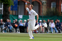 Neil Wagner of Essex celebrates taking the wicket of Scott Borthwick during Surrey CCC vs Essex CCC, Specsavers County Championship Division 1 Cricket at Guildford CC, The Sports Ground on 9th June 2017