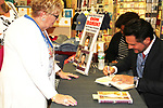 "Don Diamont and fan - The Bold and The Beautiful Don Diamont signed his book ""My Seven Sons and How We Raised Each Other""  - They only drive me crazy 30% of the time - for fans after a Q and A on May 31, 2018 at Books & Greetings in Northvale, New Jersey.  (Photo by Sue Coflin/Max Photo)"