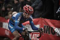Lars Van der Haar (NLD/Giant-Alpecin)<br /> <br /> Grand Prix Adrie van der Poel, Hoogerheide 2016<br /> UCI CX World Cup