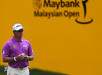 Lee Westwood (ENG) during the Pro-Am ahead of the 2014 Maybank Malaysian Open at the Kuala Lumpur Golf & Country Club, Kuala Lumpur, Malaysia. Picture:  David Lloyd / www.golffile.ie