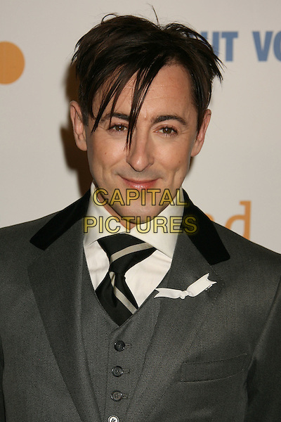ALAN CUMMING.20th Annual GLAAD Media Awards held at the Nokia Theatre, Los Angeles, California, USA..April 18th, 2009.headshot portrait grey gray.CAP/ADM/MJ.©Michael Jade/AdMedia/Capital Pictures.