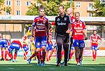 Stockholm 2015-07-11 Fotboll Damallsvenskan Hammarby IF DFF - Vittsj&ouml; GIK :  <br /> Vittsj&ouml;s Jane Ross , tr&auml;nare Denise Reddy och Kirsty Yallop deppar efter matchen mellan Hammarby IF DFF och Vittsj&ouml; GIK <br /> (Foto: Kenta J&ouml;nsson) Nyckelord:  Fotboll Damallsvenskan Dam Damer Zinkensdamms IP Zinkensdamm Zinken Hammarby HIF Bajen Vittsj&ouml; GIK depp besviken besvikelse sorg ledsen deppig nedst&auml;md uppgiven sad disappointment disappointed dejected