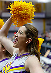 Stony Brook defeats UAlbany  69-60 in the America East Conference tournament quaterfinals at the  SEFCU Arena, Mar. 3, 2018.  Albany cheerleaders.
