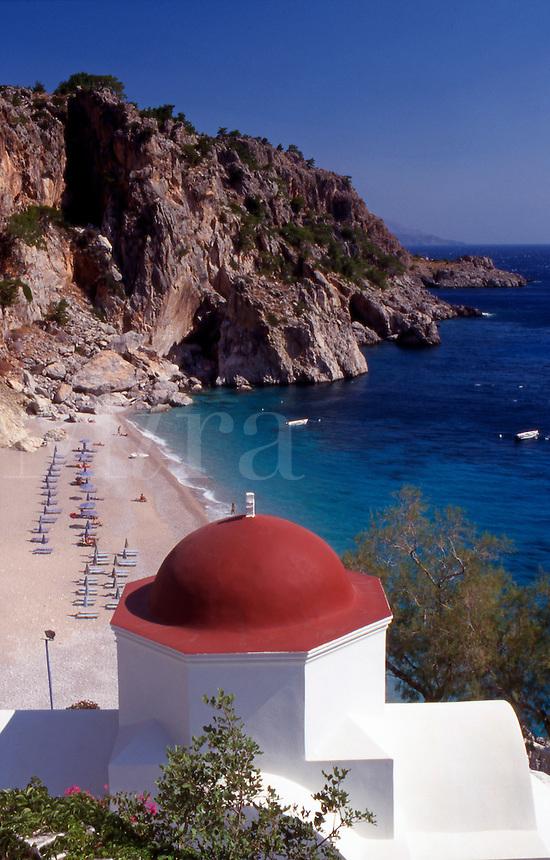 Greece. Dodecanese Islands. Kyra Panagia. Karpathos