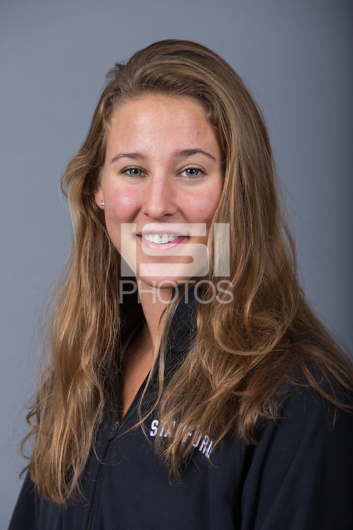 Stanford, California - October 2, 2014:  Stanford Women's Rowing portraits.