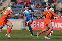 Bridgeview, IL - Saturday May 06, 2017: Vanessa DiBernardo during a regular season National Women's Soccer League (NWSL) match between the Chicago Red Stars and the Houston Dash at Toyota Park. The Red Stars won 2-0.