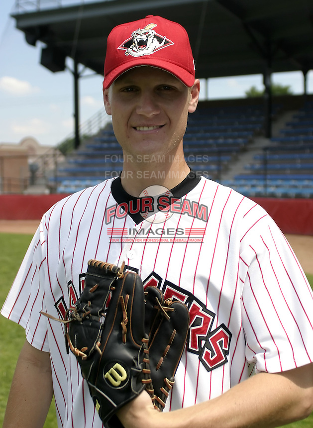 July 3, 2004:  Pitcher Craig Molldrem of the Jamestown Jammers, Single-A NY-Penn League affiliate of the Florida Marlins, during a game at Russell Diethrick Park in Jamestown, NY.  Photo by:  Mike Janes/Four Seam Images