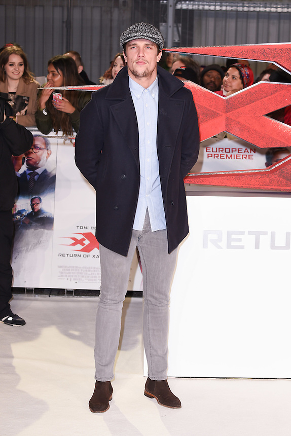 Lewis Bloor<br /> at the &quot;xXx: Return of Xander Cage&quot; premiere at O2 Cineworld, Greenwich , London.<br /> <br /> <br /> &copy;Ash Knotek  D3216  10/01/2017
