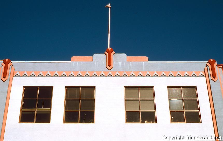 Victoria: 1930's ? 1001 Wharf St. Zig-Zag Moderne.  Photo '88.