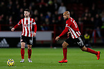 David McGoldrick of Sheffield United runs with the ball during the Premier League match at Bramall Lane, Sheffield. Picture date: 10th January 2020. Picture credit should read: James Wilson/Sportimage