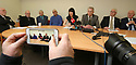 Grainne Teggart from Amnesesty International speaks during press conference on the Hooded men in Belfast, Northern Ireland, Tuesday 20th of March 2018. The European Court of Human Rights (ECHR) has rejected a request to find that men detained during internment in Northern Ireland suffered torture. The so-called hooded men claimed they were subjected to torture by the British army in 1971. Lawyers for the men have called on the Irish government to appeal. In 1978, the European Court of Human Rights held that the UK had carried out inhuman and degrading treatment. Photo/Paul McErlane