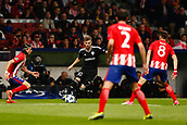 31st October 2017, Wanda Metropolitano, Madrid, Spain; UEFA Champions League, Atletico Madrid versus Qarabag FK; Pedro Henrique (10) of Qarabag looks to bring the ball forward