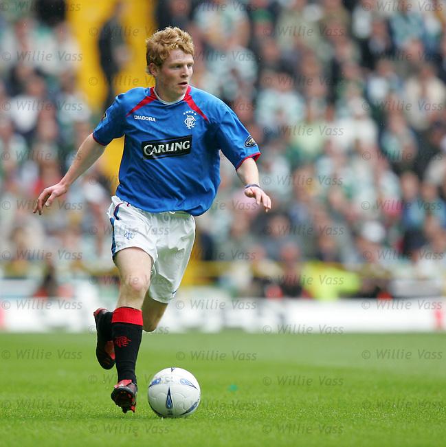 Chris Burke, Rangers.stock season 2003-2004.pic willie vass