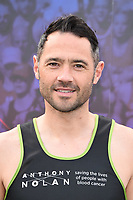 Chris Newton<br /> at the start of the London Marathon 2019, Greenwich, London<br /> <br /> ©Ash Knotek  D3496  28/04/2019