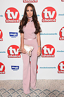 LONDON, UK. September 10, 2018: Yasmin Oukhellou at the TV Choice Awards 2018 at the Dorchester Hotel, London.<br /> Picture: Steve Vas/Featureflash