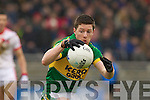 Kieran O'Leary, Kerry in action against   Tyrone in the fourth round of the National Football league at Fitzgerald Stadium, Killarney on Sunday.