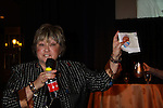"Joyce Becker is host of  the Genoa City Conversations (Q&A) which was held on 3/24 at the Soap Opera Festivals Weekend - ""All About The Drama"" on March 24, 2012 at Bally's Atlantic City, Atlantic City, New Jersey. (Photo by Sue Coflin/Max Photos)"