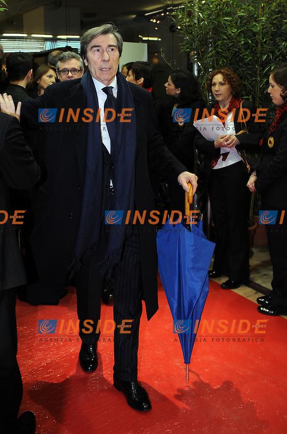 Ariedo BRAIDA<br /> Milano, 13/03/2011 Teatro Manzoni<br /> 25&deg; anniversario di presidenza Berlusconi al Milan<br /> Campionato Italiano Serie A 2010/2011<br /> Foto Nicolo' Zangirolami Insidefoto