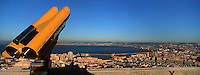 Europe/France/13/Bouches-du-Rhône/ Marseille: Vue sur la ville et ses ports depuis Notre Dame de la Garde