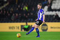 Sheffield Wednesday's Tom Lees<br /> <br /> Photographer Chris Vaughan/CameraSport<br /> <br /> The EFL Sky Bet Championship - Hull City v Sheffield Wednesday - Saturday 12th January 2019 - KCOM Stadium - Hull<br /> <br /> World Copyright © 2019 CameraSport. All rights reserved. 43 Linden Ave. Countesthorpe. Leicester. England. LE8 5PG - Tel: +44 (0) 116 277 4147 - admin@camerasport.com - www.camerasport.com