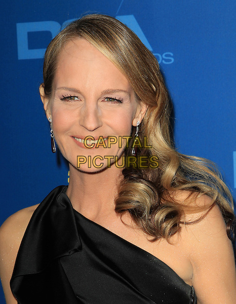 Helen Hunt.65th Annual Directors Guild Of America Awards - Arrivals - Press Room Held At The Ray Dolby Ballroom at Hollywood & Highland Center, Hollywood, California, USA..February 2nd, 2013.headshot portrait black one shoulder .CAP/ADM/KB.©Kevan Brooks/AdMedia/Capital Pictures.