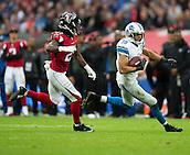 26.10.2014.  London, England.  NFL International Series. Atlanta Falcons versus Detroit Lions. Lions' WR Corey Fuller [10] in action.