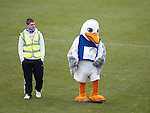 Or for duck's sake stop swanning around on the pitch and getting into a flap.