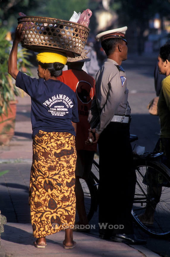 Street Corner Activity, Ubud, Bali, Indonesia