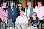 NIGHT OUT: Having a great time at the Churchill Senior Citizens dinner held in Ballyroe Heights Hotel on Friday night were seated l-r: Archdeacon Rowland Blennerhassett, Godfrey Blennerhassett and Elisa Blennerhassett (all Fenit). Standing l-r: Julie O'Connor (Listrim), Paul and Joan Dowling (Listrim), Maraquita Blennerhassett (Fenit) and Nora Landers (Kilfenora).   Copyright Kerry's Eye 2008