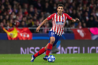 Rodrigo Hernandez of Atletico de Madrid during the match between Atletico de Madrid and Borussia Dortmund of UEFA Champions League 2018-2019, group A, date 4 played at the Wanda Metropolitano Stadium. Madrid, Spain, 6 NOV 2018.