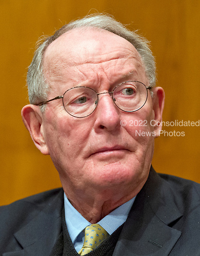 United States Senator Lamar Alexander (Republican of Tennessee), Chairman, US Senate Committee on Health, Education, Labor and Pensions, listens as Alex M. Azar II testifies before the committee on his nomination to be Secretary of Health and Human Services on Capitol Hill in Washington, DC on Wednesday, November 29, 2017.<br /> Credit: Ron Sachs / CNP