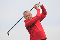 Pat Murray (Clontarf) on the 9th tee during Round 1 of The East of Ireland Amateur Open Championship in Co. Louth Golf Club, Baltray on Saturday 1st June 2019.<br /> <br /> Picture:  Thos Caffrey / www.golffile.ie<br /> <br /> All photos usage must carry mandatory copyright credit (© Golffile | Thos Caffrey)