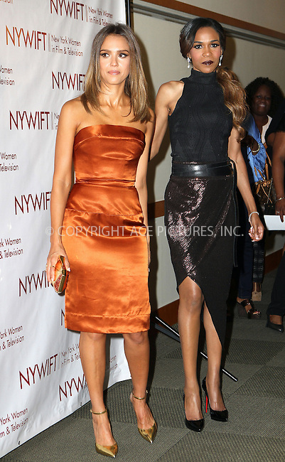 ACEPIXS.COM<br /> <br /> June 18 2014, New York City<br /> <br /> Actress Jessica Alba and singer Michelle Williams attend the 2014 New York Women In Film And Television 'Designing Women' Awards Gala at the McGraw Hill Building on June 18, 2014 in New York City<br /> <br /> <br /> By Line: Nancy Rivera/ACE Pictures<br /> <br /> ACE Pictures, Inc.<br /> www.acepixs.com<br /> Email: info@acepixs.com<br /> Tel: 646 769 0430