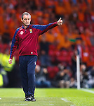 George Burley salutes the Scotland fans