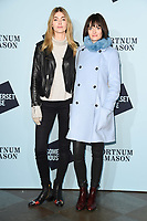 Eve Delf &amp; Sam Rollinson at the launch party for Skate at Somerset House, London, UK. <br /> 14 November  2017<br /> Picture: Steve Vas/Featureflash/SilverHub 0208 004 5359 sales@silverhubmedia.com