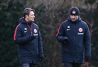 Trainer Niko Kovac (Eintracht Frankfurt) und Co-Trainer Robert Kovac (Eintracht Frankfurt) - 29.12.2017: Eintracht Frankfurt Training, Commerzbank Arena