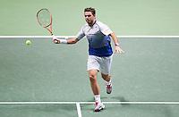 Februari 12, 2015, Netherlands, Rotterdam, Ahoy, ABN AMRO World Tennis Tournament,  Stan Wawrinka (CAN)<br /> Photo: Tennisimages/Henk Koster
