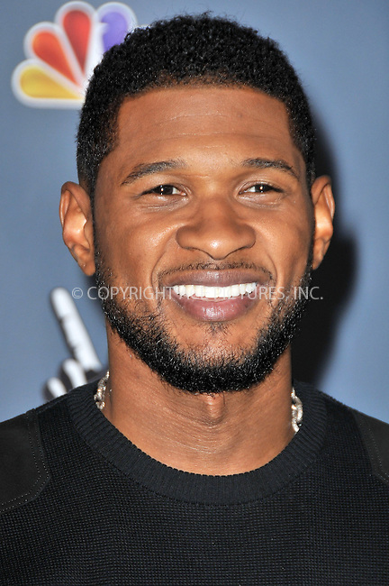 WWW.ACEPIXS.COM....US Sales Only....March 20 2013, LA....Usher at 'The Voice' season four premiere held at the TCL Chinese Theatre in Hollywood on March 20 2013 in Los Angeles ....By Line: Famous/ACE Pictures......ACE Pictures, Inc...tel: 646 769 0430..Email: info@acepixs.com..www.acepixs.com