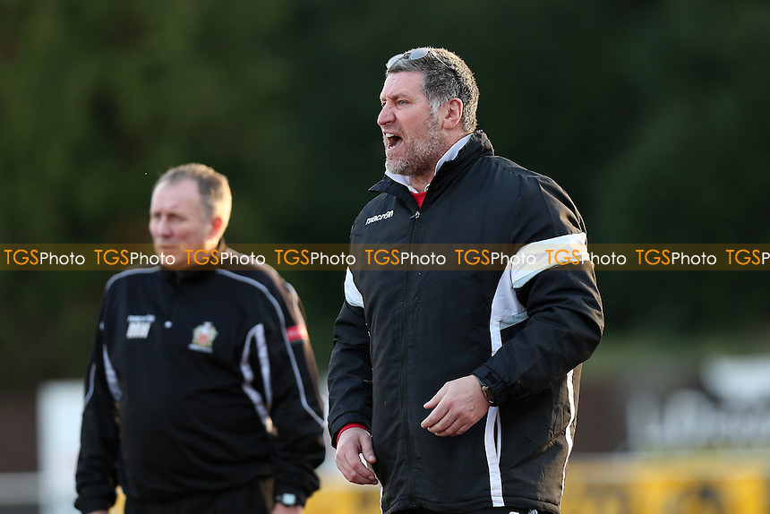 Hornchurch manager Jimmy McFarlane during AFC Hornchurch vs Romford, Ryman League Division 1 North Football at Hornchurch Stadium on 4th February 2017