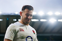 Danny Care of England leaves the field after the match. RBS Six Nations match between England and Italy on February 26, 2017 at Twickenham Stadium in London, England. Photo by: Patrick Khachfe / Onside Images