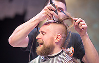 Vail Place Shaving Grace fundraising St Paul event photography